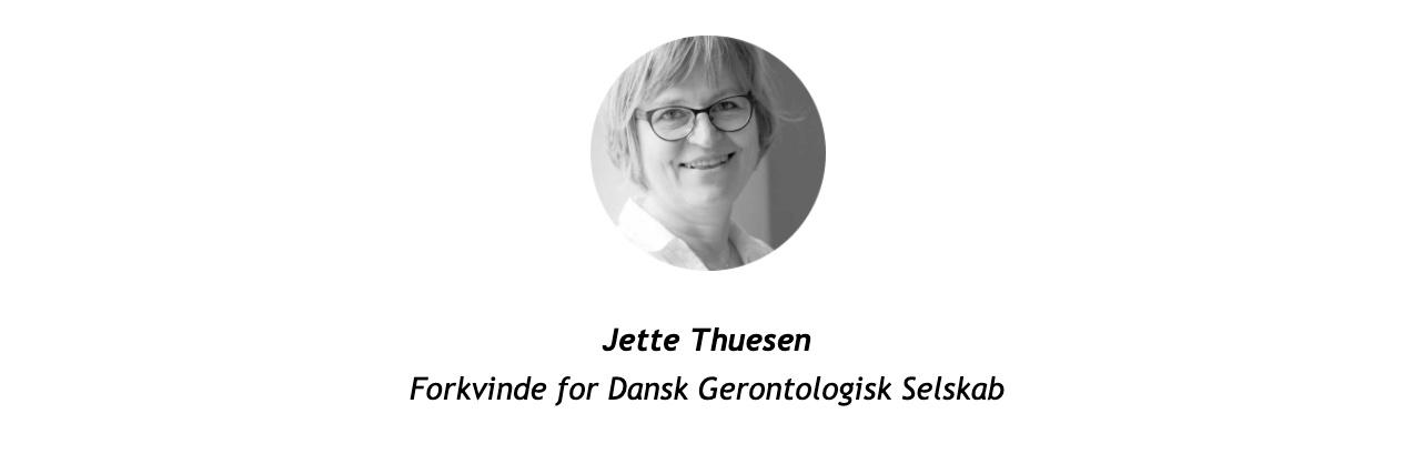 Jette Thuesen Forkvinde for DGS